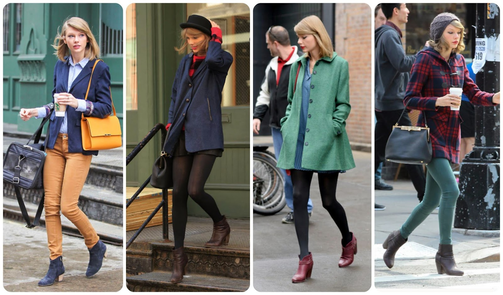 Taylor Swift street style New York 2014