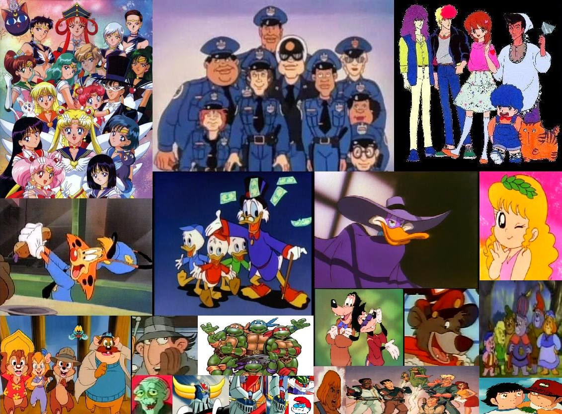 Pin cartoni animati anni e censurati foto