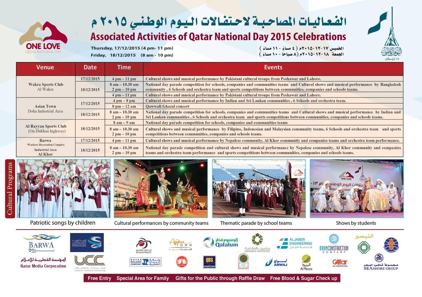 Qatar National Day 2015