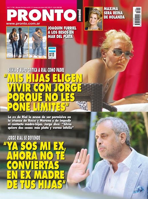 Diario digital sobre el mundo del espect culo enero 2013 for Revista pronto primicias ya