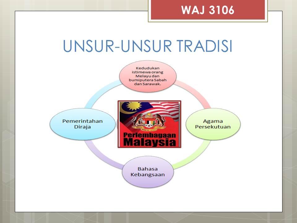 Pismp Ambilan Jan 2012 Pendidikan Islam 2 Hubungan Etnik Unsur Tradisi Dalam Perlembagaan
