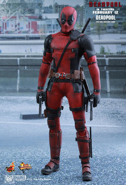 Ryan Reynolds in costume on set of Deadpool confirms film will be ...