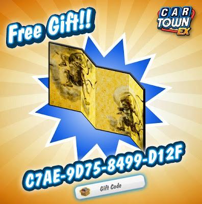 Car Town EX Free Gift Biombo