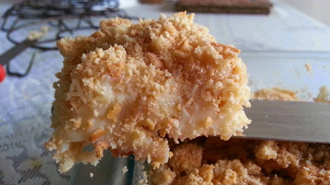 Aishwarya Eats: Eggless Creamy Lemon Crumb Bars