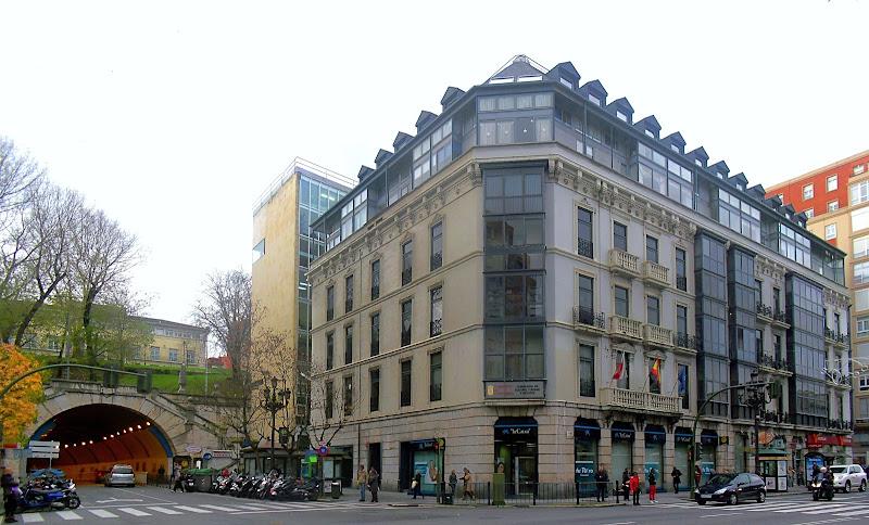 Edificio Simeón en Santander