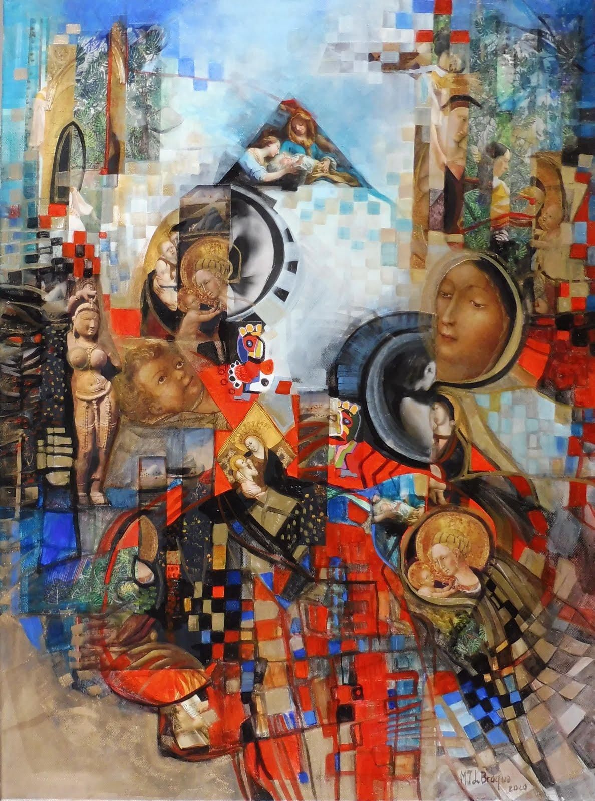 Maternité - 60 x 81 cm - 2020