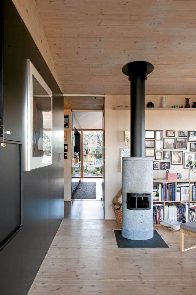 Scandinavian Retreat.: Rennesøy Home Designer Huser Innen