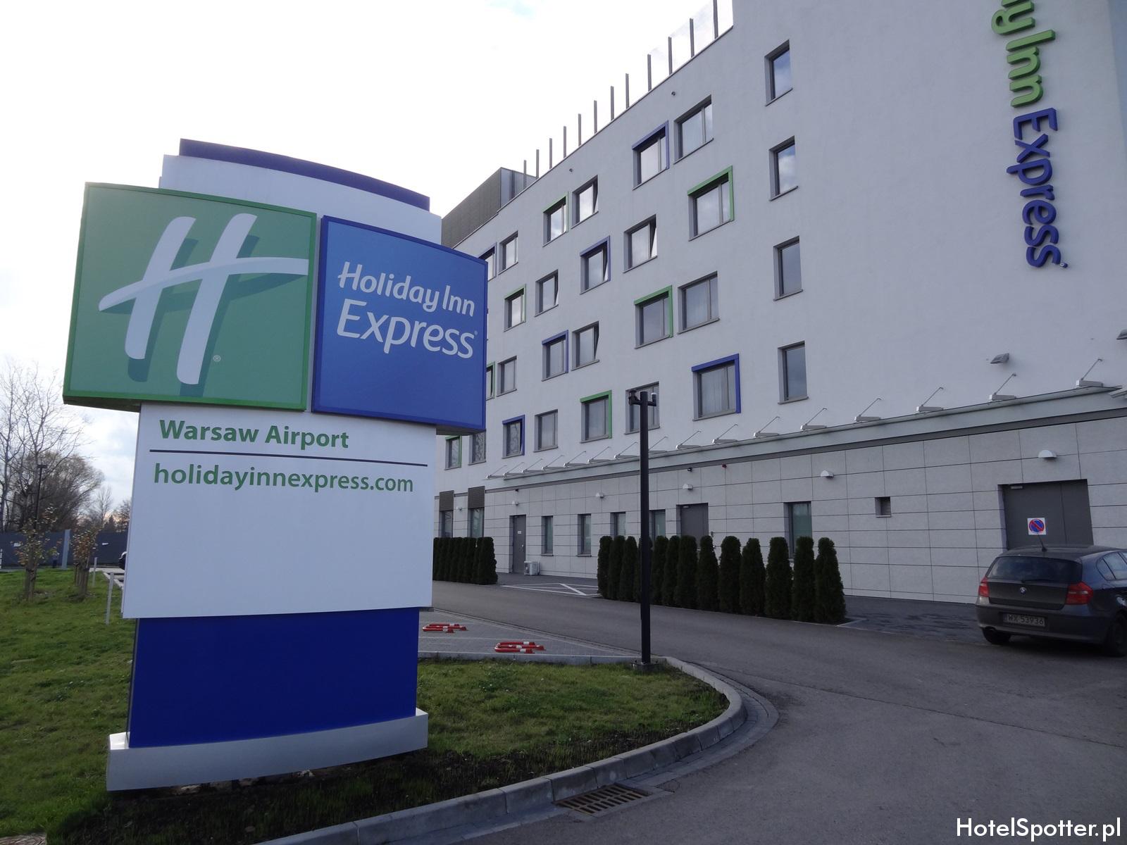 Holiday Inn Express Warsaw Airport wygląd zewnętrzny
