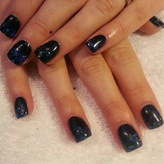Black Nail Polish Pedicure Nails Led Polish Pedicure