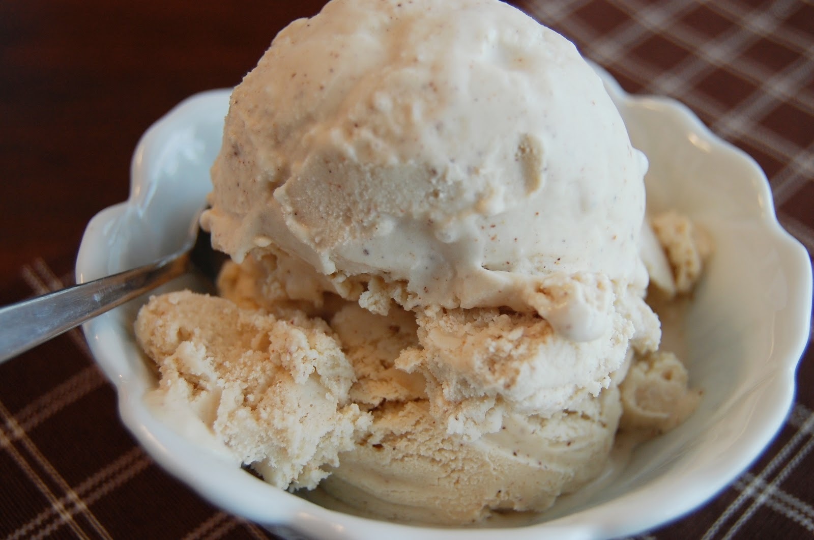 PromiseMe2....and A Lot About Food!: Eggnog Ice Cream