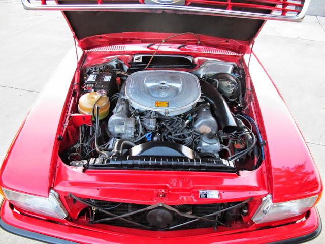 mercedes r107 engine