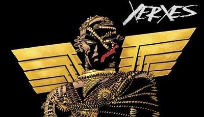 Imágen del cómic de Xerxes de Frank Miller