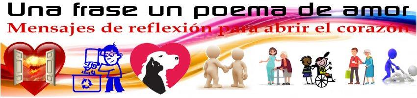 Una frase, un poema de amor