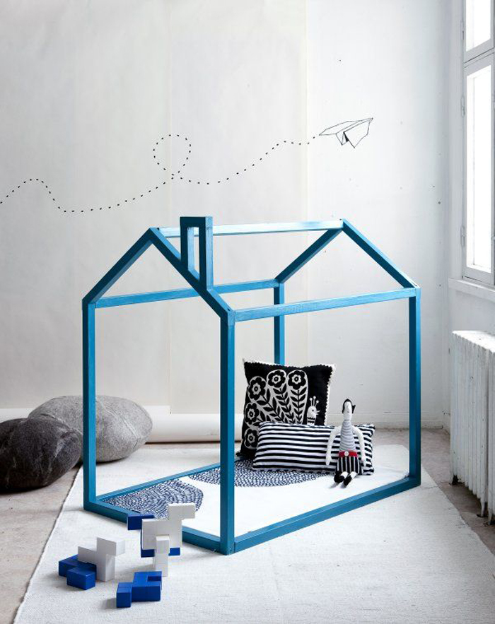 bed frame reading nook styling jennijuurinen