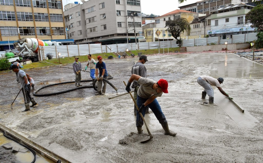 Reforma da Praça Olímpica de Teresópolis chega à reta final