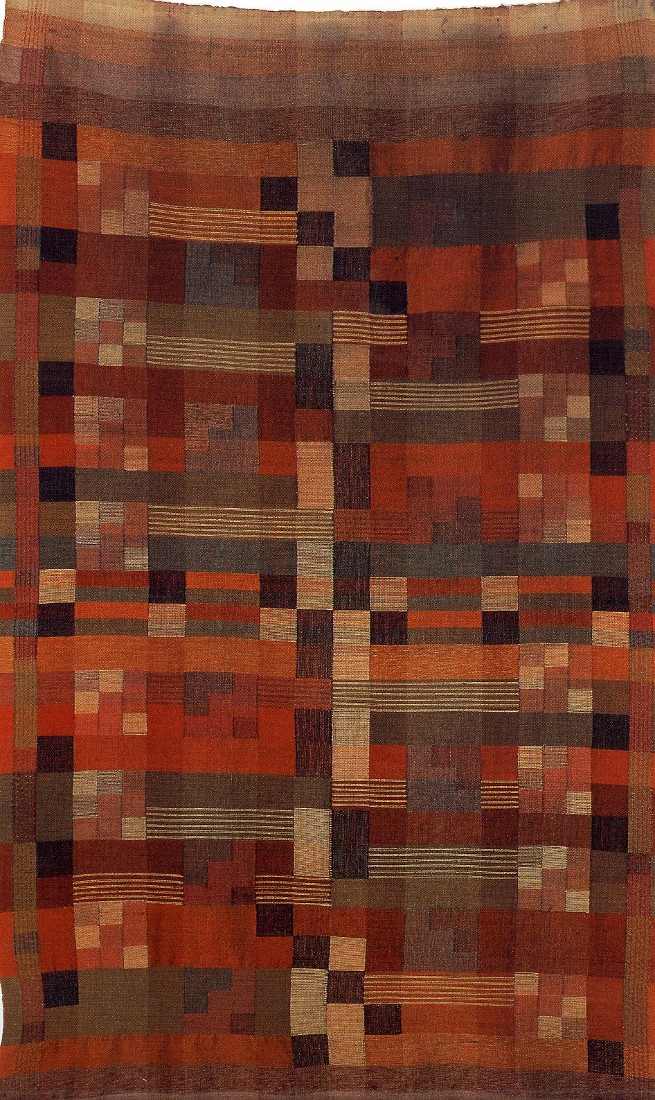 Gunta Stolzl Bauhaus Weaver and Textile Designer I had