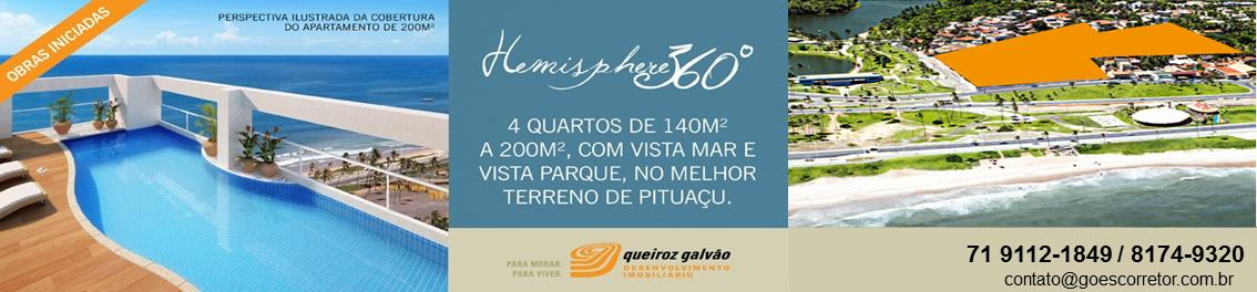 HEMISPHERE 360º - Queiroz Galvão - Apartamentos de 140m² a 200m².
