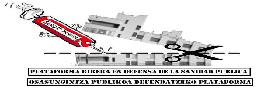 Plataforma Ribera en defensa de la Sanidad Pública