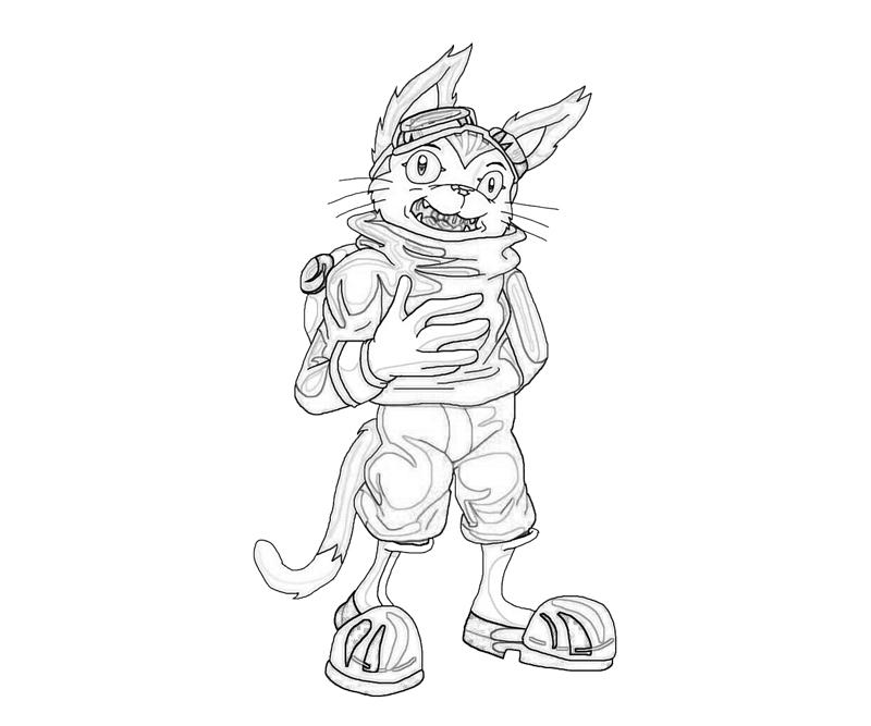blinx-blinx-character-coloring-pages