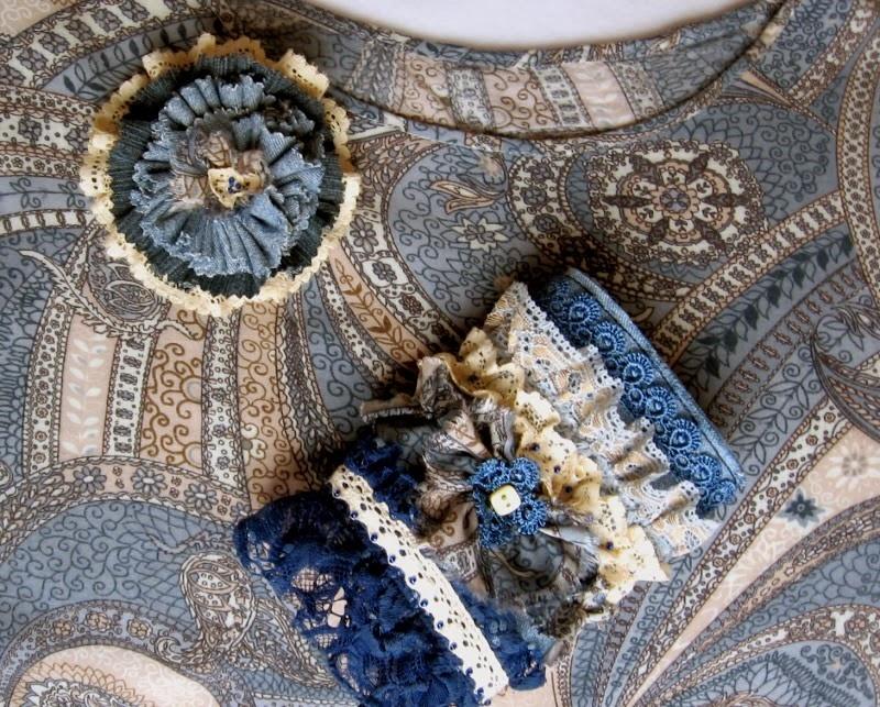 аксессуары из джинсовой ткани