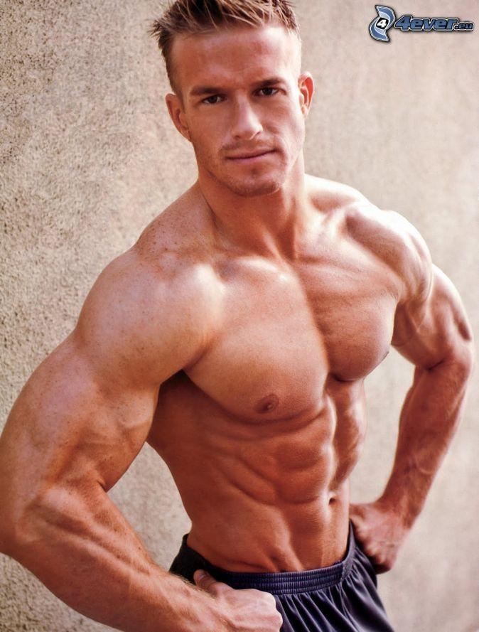 Hombre con solo un brazo musculoso / Cuanto tiempo se necesita para ...