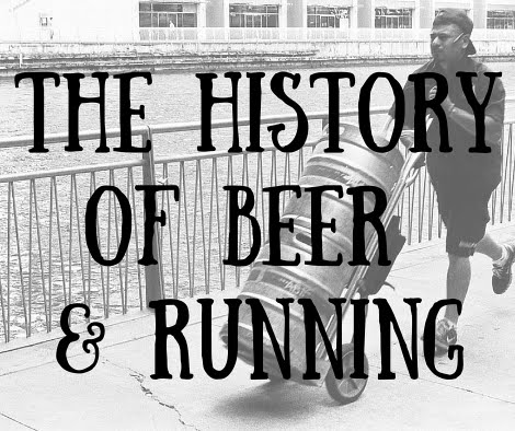 History of beer and running