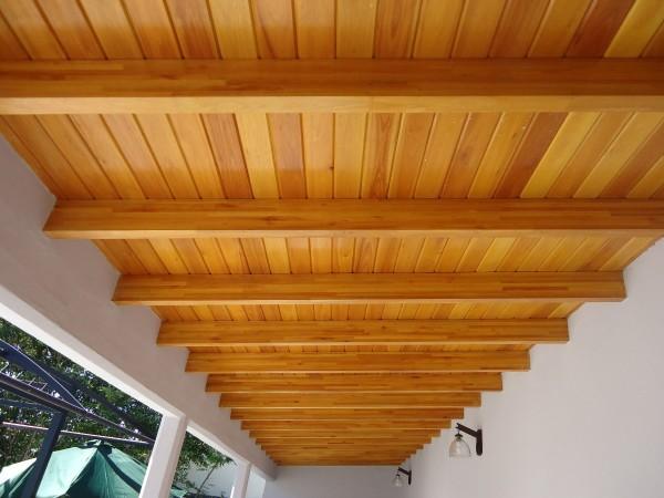 Marzua techos de madera - Techos con vigas de madera ...