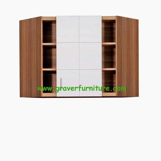 Kitchen Set Atas Sudut KSA 2751 Graver Furniture