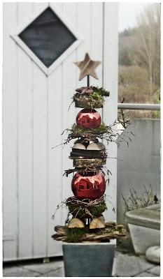 Main blick dezember 2011 - Zinkwanne weihnachtlich dekorieren ...