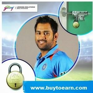 Buy Godrej Locks Extra Rs. 300 cashback Rs. 599 : Buy To Earn