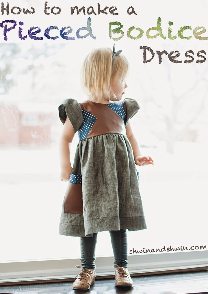 tutorial for mixed textile dress