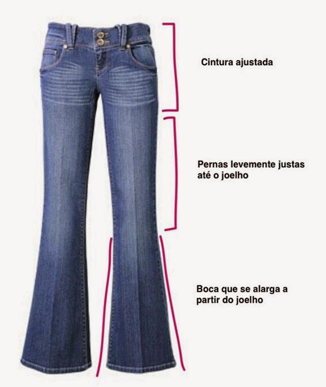 Dicas para usar calça flare corretamente
