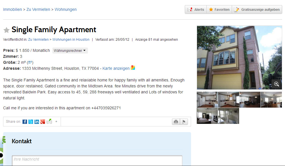 Lovely Room For Rent 5 Rue Chanez 75016 Paris France  : SingleFamilyApartmentZuVermietenWohnungeninHoustonTexasUSA1352366708625 from gegenvorkassebetrug.wordpress.com size 1001 x 583 jpeg 180kB