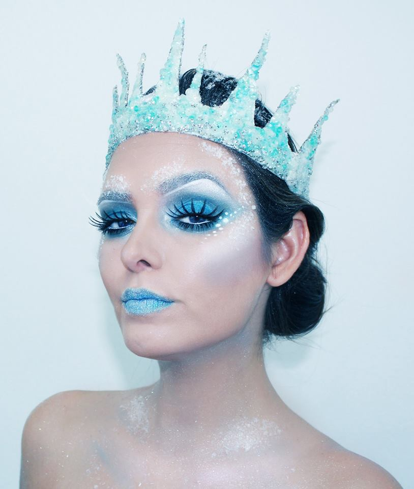 She became Queen of the Ice. Silence was her language.  31 Days of Halloween  Makeup, hair and model: Ingrid M. Rivera Photo: Pedro Acosta ingrid_makeup