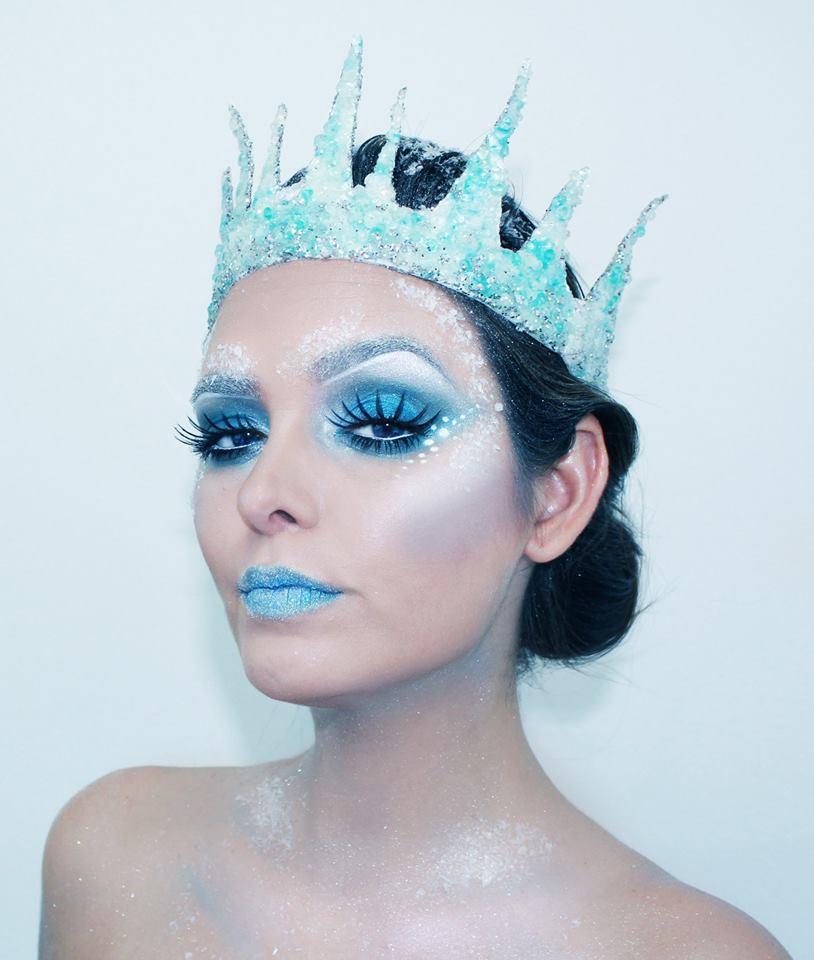 Ice princess makeup ideas mugeek vidalondon - Photo de maquillage ...