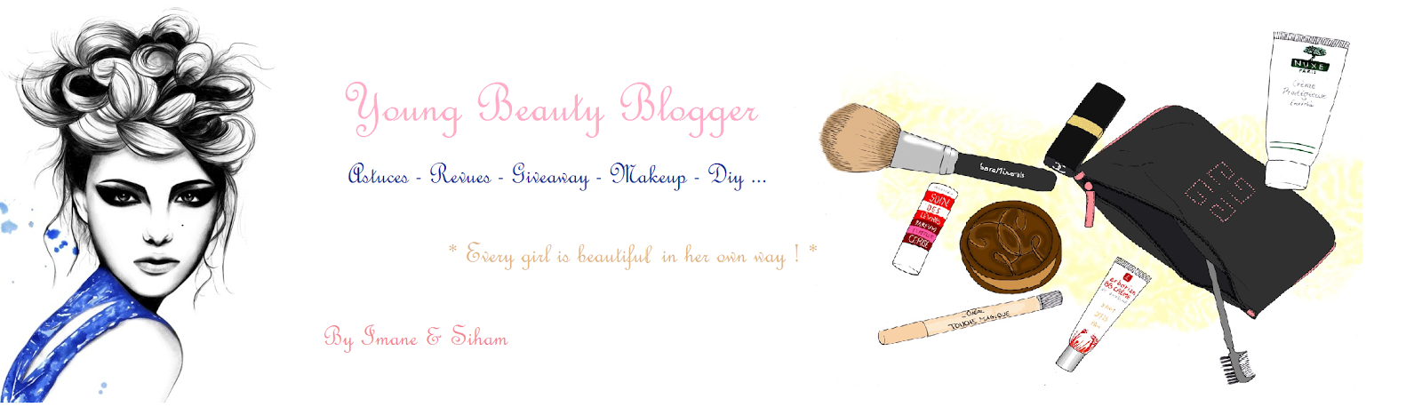 Young Beauty Blogger