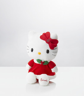 Hello Kitty plush soft toy for Christmas