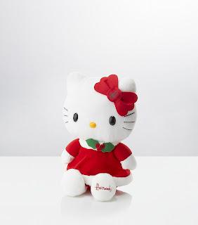 Hello Kitty plush soft toy for Christmas