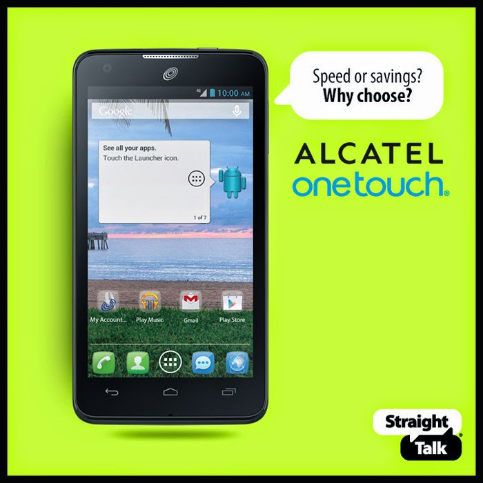 Straight Talk Promo Code for Alcatel onetouch Sonic