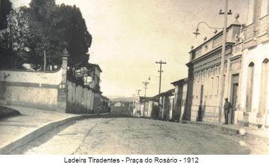 LADEIRA TIRADENTES EM 1912