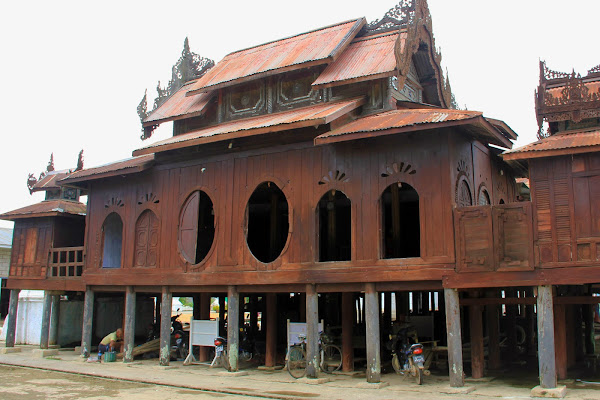 Monasterio Shwe Yaunghwe Kyaung