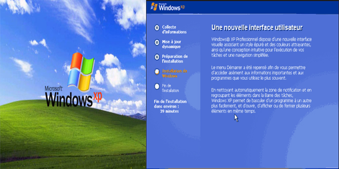 install windows xp