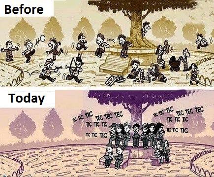 Beza Budak-Budak Dahulu Dan Sekarang