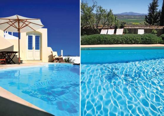 Design classic interior 2012 piscinas decoradas con - Adornos para piscinas ...