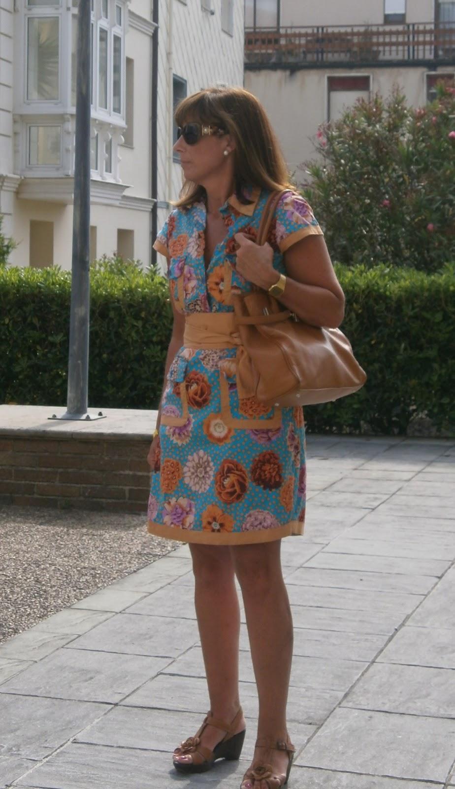 Br jula de estilo mis looks vestido flores - Brujula de estilo ...
