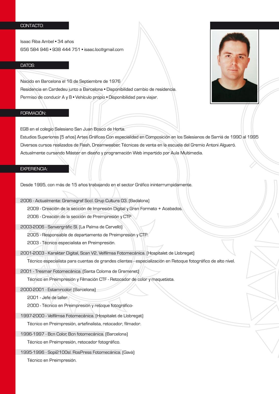 Curriculum Vitae Free Cv Exle ~ Curriculum Vitae