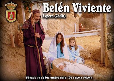 BELÉN VIVIENTE DE ESPERA 2015 - CÁDIZ