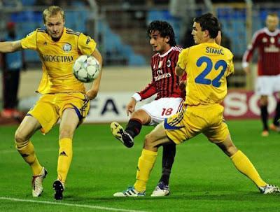 BATE Borisov 1 - 1 AC Milan (2)
