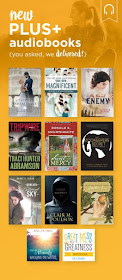 Love Audible? Try Bookshelf PLUS- click the picture to learn more.