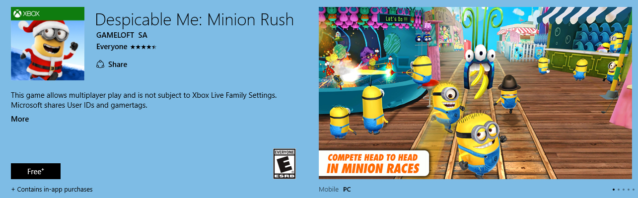 Despicable Me : Minion Rush